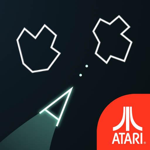 Asteroidy Gra z Atari