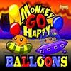 Szczęśliwa Małpka i Balony