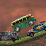 Van Adventure. Gra Wyścigowa